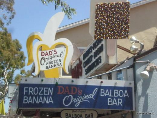 Dad's Original Banana Stand on Balboa Island