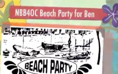 NBB4OC Beach Party for Ben