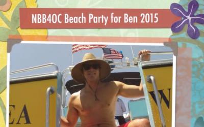 NBB4OC Beach Party for Ben 2015